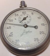 VINTAGE WW2 GERMAN JUNGHANS 29a STOPWATCH RARE FOR PARTS serial # 4499 #118