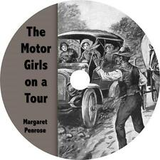 The Motor Girls on a Tour, Margaret Penrose Fun Mystery Audiobook on 1 MP3 CD