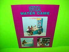Bobs Space Racers VERTICAL WATER GAME Original 1993 Redemption Arcade Game Flyer