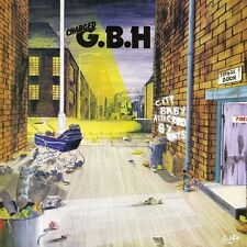 G.B.H City Baby Attacked By Rats GBH NEW 2016 140g CLEAR Vinyl LP *SALE PRICE