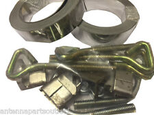 Easy Up Chimney Mount Repair Kit - 36' Stainless Steel Straps & Hardware Only