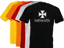 T-shirt LUFTWAFFE, aviation allemande, german aviation, S, M, L, XL, NEUF, NEW