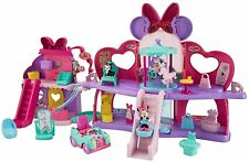 Disney Minnie Mouse Fabulous Shopping Mall Figures Play Set Toys Doll House Gift