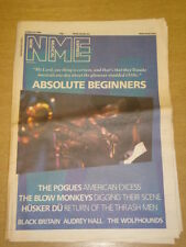NME 1986 MAR 22 ABSOLUTE BEGINNERS THE POGUES HUSKER DU