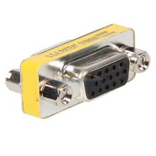 15 Pin SVGA VGA Female to Female gender changer adapter Converter Plug Coupler