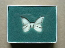LENOX PORCELAIN BOW BROOCH / PIN WITH BOX