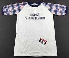 NWOT Rare Vintage 1982 Steve Martin Dead Men Don't Wear Plaid T Shirt S Sm. 80's