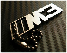 BMW M3  stainless steel keychain ring fob tag key