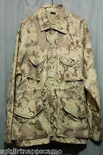 Canadian Digital Arid/ Desert 1999 Style BDU Smock Combat Jacket / Medium
