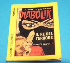 DIABOLIK n.1 MINI RISTAMPA FORMATO cm.8x10,5 EDITORE LO SCARABEO 1994 Lire 3500