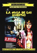 (LA ORGÍA DE LOS MUERTOS EDICIÓN OFICIAL ESPECIAL 2 DVDs) PAUL NASCHY TERROR