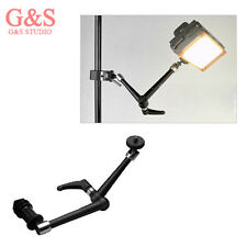 "8.3"" Inch Stainless Steel Articulated Magic arm for LCD Monitor led Light Tripod"