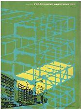 rivista - PROGRESSIVE ARCHITECTURE ANNO 1968 NUMERO 6