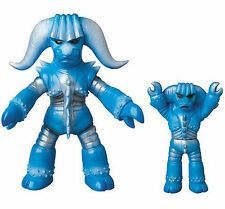 Android Kikaider Blue Buffalo Renewal Color with Mini Soft Vinyl Figure 24cm