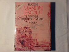 JONEL PERLEA Puccini: Manon Lescaut 2mc ITALY RARISSIME NUOVE VERY RARE UNPLAYED