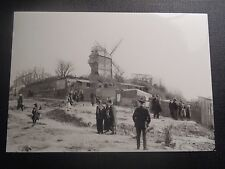 CPM REPRODUCTION PARIS 1900 LE MOULIN DE LA GALETTE