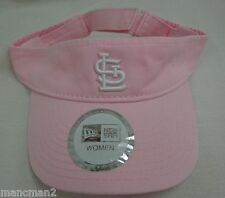 St. Louis Cardinals Pink New Era One Size Womens Visor Hat