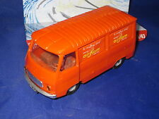 DV6272 NOREV PEUGEOT J7 FOURGON AIRFLAM PLASTIQUE ORANGE Ref 7 1/43 TBE