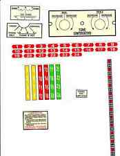 JUKEBOX WURLITZER 1100 ULTIMATE ENCORE AMPLIFIER MECHANISM  ECT  DECAL SET