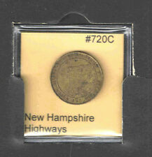 New Hampshire Highways Transportation Token Catalog# 720C
