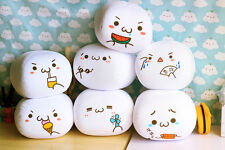 Cute Anime Japanese Emoticon Kaomoji kun  Pillow Cushions Plush Toy Gift 6 Style