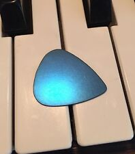 100% Titanium Guitar Pick.  Metal USA Silver Brass Copper