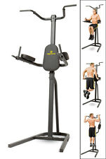 NEW Power Tower Multi-Station Home Gym Pull Up Dip Flex Bar Exercise Workout