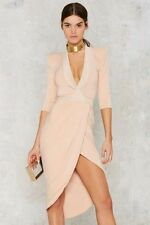Zhivago Sheer Eye of Horus Gown By Nasty Gal Size L