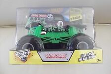 MONSTER Jam Truck Die Cast Metal Body Off Road Grave Digger  1:24