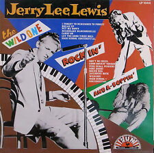 "LP 12"" 30cms: Jerry Lee Lewis: the wild one, sun  E5"