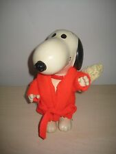 "VINTAGE 1966 UNITED FEATURE PEANUTS BATHTIME SNOOPY 8"" FIGURE  ULTRA RARE"