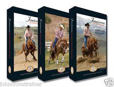 Josh Lyons Performance Set, 3 horse training DVDs for sale by John Lyons Trainer