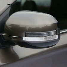 stainless steel Rearview Mirror Cover Trim For Mitsubishi Outlander 2013 - 2017