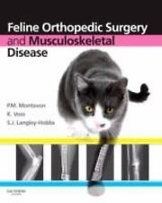FELINE ORTHOPEDIC SURGERY AND MUSCULOSKELETAL DISEASE NEW HARDCOVER BOOK