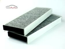 2 X Carbon Cabin Air Filter for Audi A6 S6 R8  4F0 819 439 A