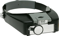 Headband Magnifier - LED Illuminated, Binocular, 2 Lenses