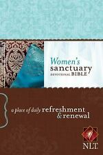 Women's Sanctuary Devotional Bible NLT: A Place of Daily Refreshment and Renewal