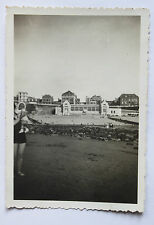 Ault Somme Manche Vintage Private Family Snapshot holidays vacances 1939