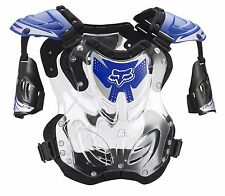 Fox Racing 2016 R3 Roost Deflector Chest Protector Motocross Blue SIZE LARGE