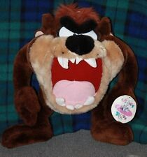 Loony Tunes Taz Character Play by Play 1996 Toy Stuffed Animal Plush free shippi