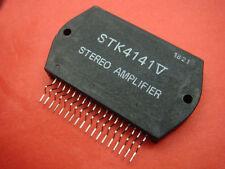 2 x NEW IC STK4141V STK4141 SANYO AF POWER AMP AR