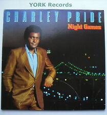CHARLEY PRIDE - Night Games - Excellent Condition LP Record RCA PL 84822