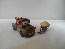 Disney Pixar Cars Diecast Exclusive Figure Pack Mater Race Team And Zen Master
