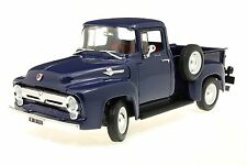WELLY 1:18 1956 FORD F-100 PICK UP BLU SCURO 19831W 19831