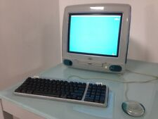 Apple iMac G3 computer PC vintage Bondi Blue 1998 Steve Jobs Cupertino (PERFECT)