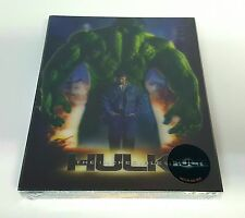 THE INCREDIBLE HULK Blu-ray STEELBOOK [NOVAMEDIA] LENTICULAR [KOREA] [#327] NEW