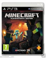 Minecraft Playstation 3 Edition Juego Ps3 Nuevo Sellado En Stock