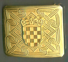 CROATIA ARMY - HV , OFFICERS BELT BUCKLE FOR SPECIAL OCCASIONS ,  new