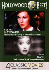 HOLLYWOOD BEST SUSAN HAYWARD & BETTE DAVIS - 4 - DVD - Region Free