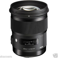 Sigma 50mm f1.4 DG HSM Art Lens for Nikon F - Free Shipping